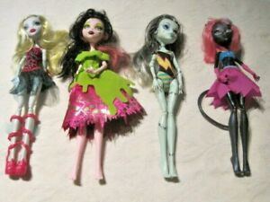 Monster-High-Doll-Lot-3-4-Dressed-Dolls