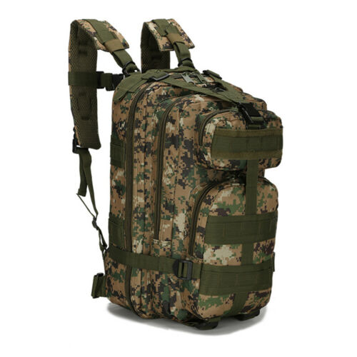 30L 3P Tactical Military Backpack Outdoor Sport Bag for Camping Traveling Hiking
