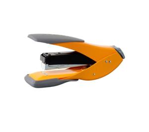 Rexel Easy Touch Half Strip Stapler 70mm Throat Depth Orange 30 Sheet Staple