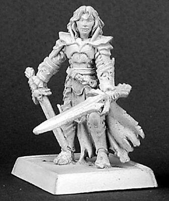 1x SIR DAURON WARLORD REAPER miniature figurine rpg jdr skeleton squelette 14169