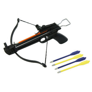 50 lb Pistol Hunting Archery Crossbow bow + 5 Bolts / Arrows 180 175 150 80 lbs
