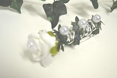 Anstecker  Hochzeitsanstecker weiß  Bräutigam Hochzeit