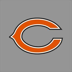 Chicago Bears Nfl Team Logo Vinyl Decal Sticker Car Window