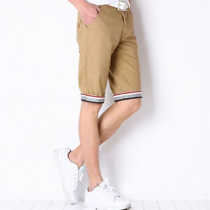 19c588745ff4 Men s Fashion Summer Beach Trousers Short Pants Slim Fit Casual ...