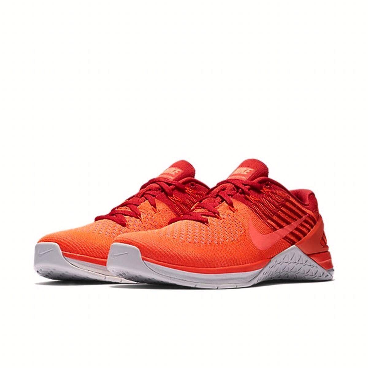 Nike metcon dsx flyknit red scarpe palestra formazione scarpe e scarpe red da ginnastica Uomo 852930 948231