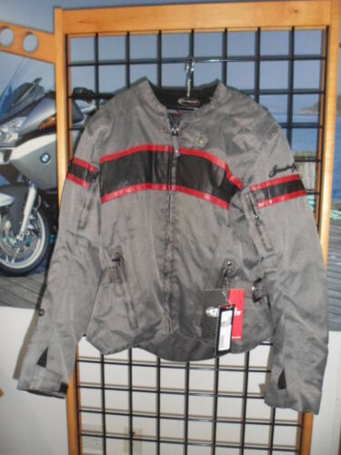 NOS Speed & Strength Womens Vintage Black/Red American Beauty Jacket 87-7795