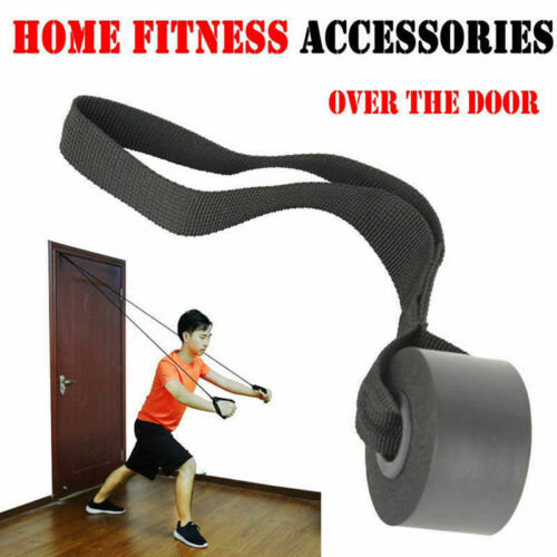 Muscle Elastic Band Fitness Rope Door Anchor Gym Arm Strength Resistance Band TR