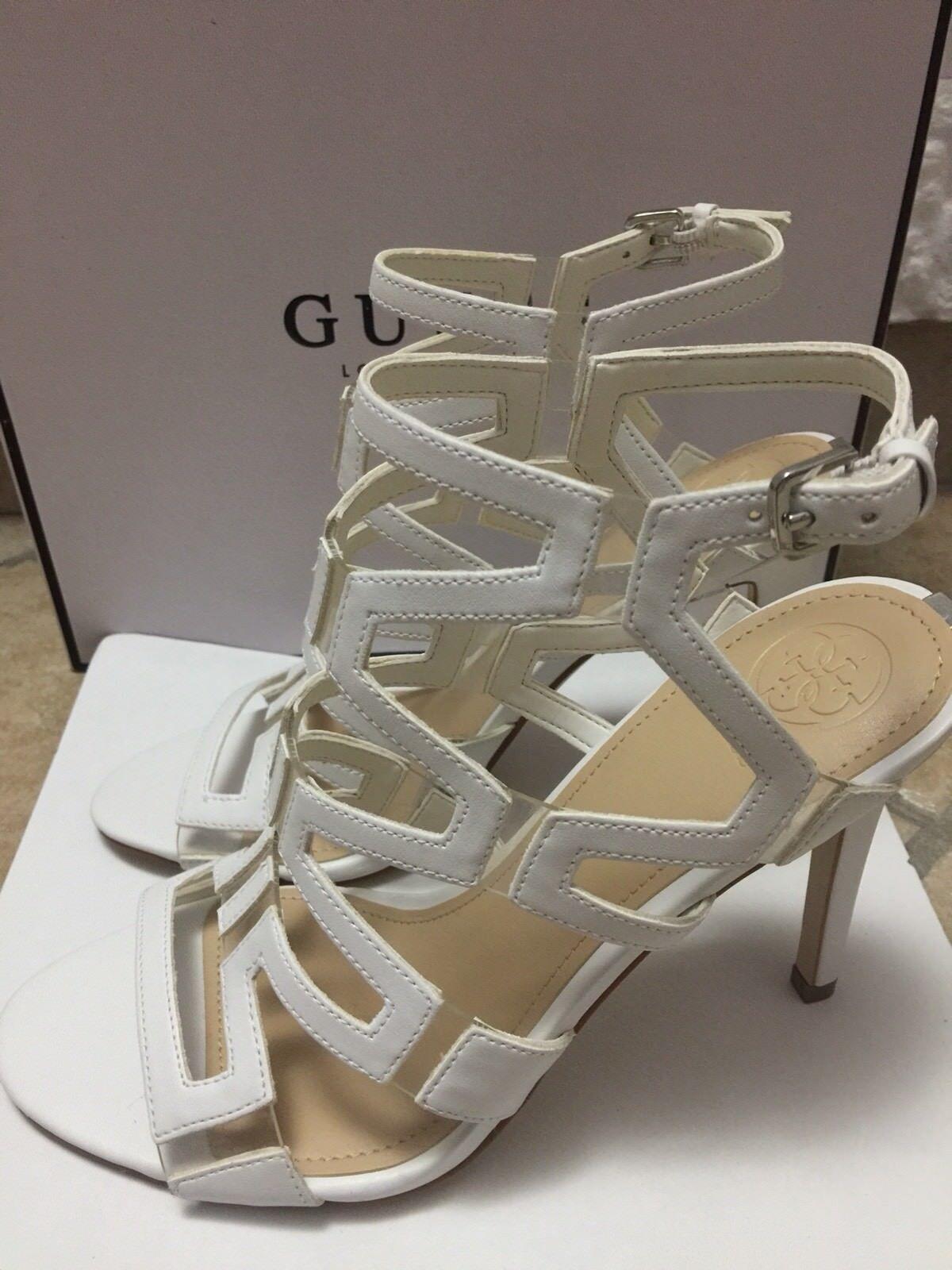 Guess Scarpe 7 Sandali Donna Mod.PADTON 3 Bianco/White Tg.38,5 US 7 Scarpe 1/2 UK 5,5 7c4eb4