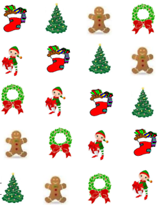 Image Is Loading Christmas Stocking Waterslide Nail Decals Art