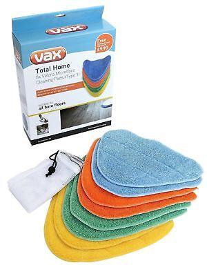 Patins NETTOYANTS en Microfibre Pour Vax Bare Floor Pro S2ST S2ST Nettoyeur Vapeur Pack de
