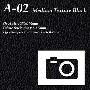 Camera-Leatherette-Cover-Binoculars-Leather-A-02-Med-Texture-Black