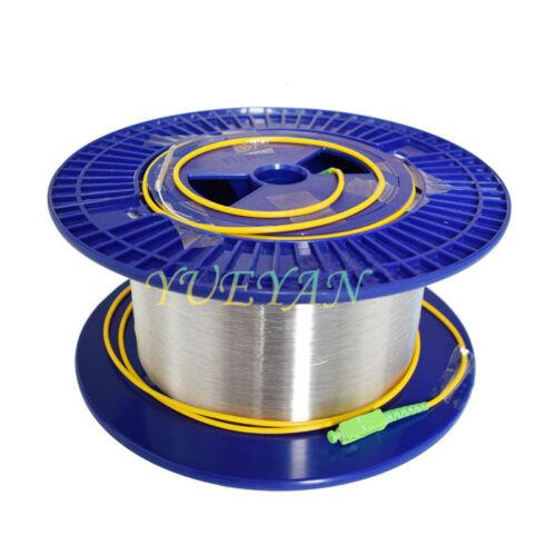 Fiber Optic OTDR Launch Cable Singlemode 9//125um 1km SC APC To SC APC Connector