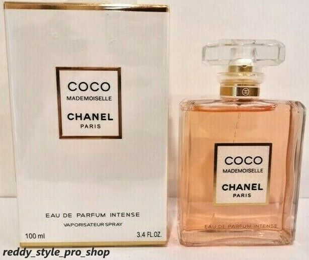 Chanel Coco Mademoiselle Intense Women's 100 ml / 3.4 Oz Eau de Parfum New Box
