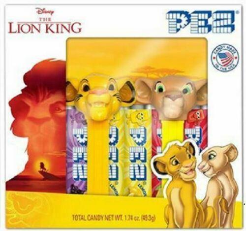 2019 MINI LION KING PEZ SET OF 2 IN GIFT SET BOX SIMBA /& NALA