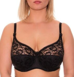 Full-Coverage-Underwire-Everyday-Bra-Plus-Size-Balconette-Cup-Cotton-Lining-Lace