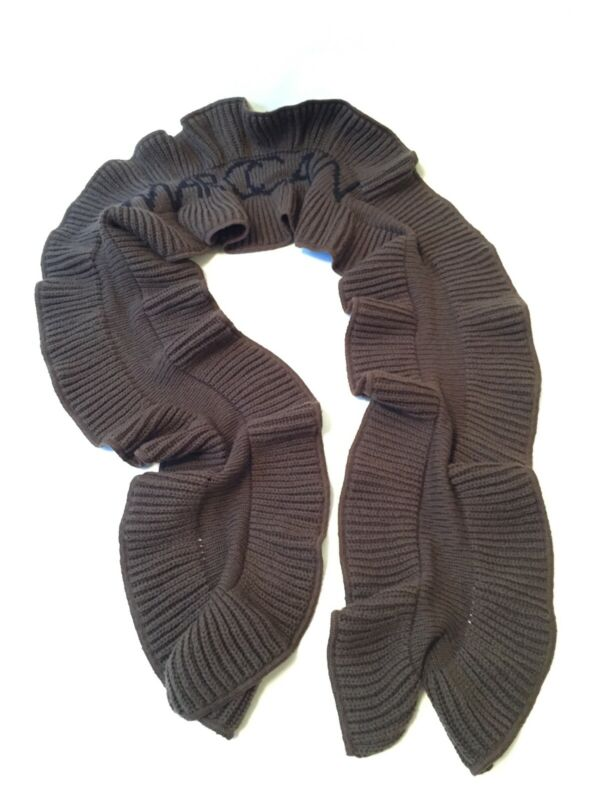 Marccain Woll-schal Khaki Strickware, Länge 170 Cm, Neu Ungetragen