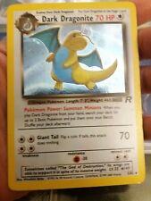 pokemon mankey 61//82 common 1st edition team rocket 2000 light play