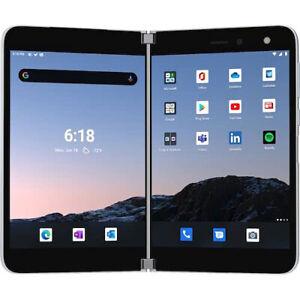 Microsoft Surface Duo 128GB (Locked AT&T) Folding 2 Screen Smartphone TGM-00006