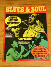 BLUES AND SOUL MUSIC MAG #330 1981 STEVIE WONDER DISCO