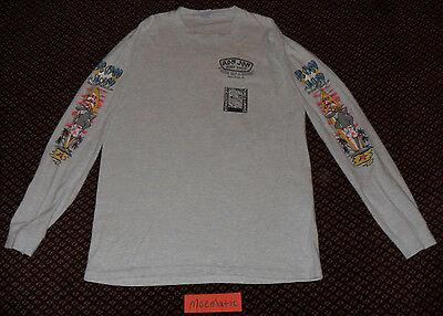 Rare VTG 1989 80s Ron Jon Surf Shop Paradise Cruiser Shark Shirt 90s Skate USA L