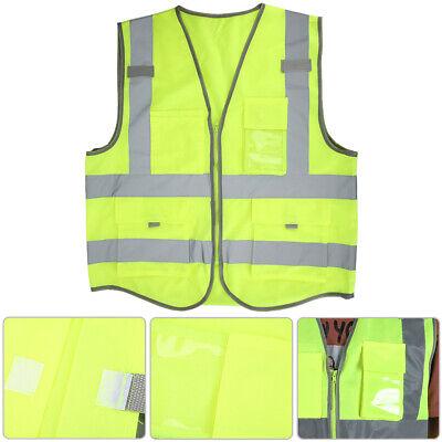 Fluorescent Vest For Site Construction Road Construction Night Outdoor Safe Coat