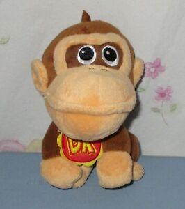 World Of Nintendo Mario Bros U Baby Donkey Kong Plush 5 ...