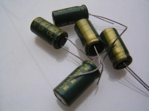 Condensadores electrolíticos 6.3 V 2200uf 105/'C 21 Mm x 10 mm C22D 5 piezas OL0022d
