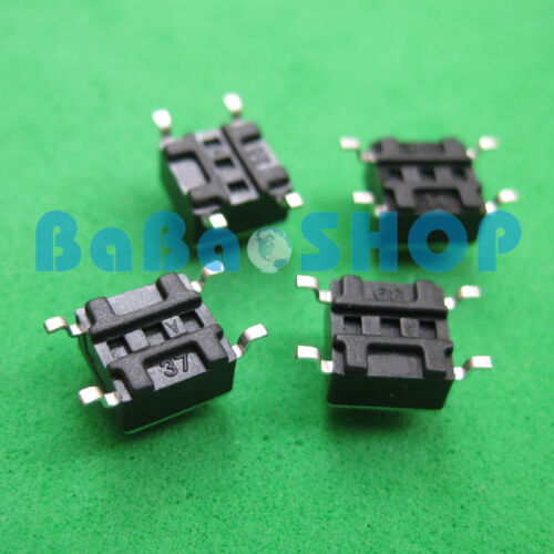 20pcs SMD SMT Tact Switch Touch Switch Bouton Switch 6mm x 6mm x 5mm New