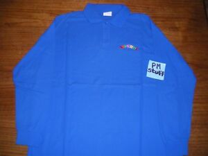 Toys-R-Us-Employee-long-sleeves-Polo-shirt-From-the-late-90-s-X-Large-Blue