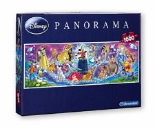 DISNEY FAMILY 1000 PIECES PUZZLE FOR CHILDREN PANORAMA JIGSAW CLEMENTONI