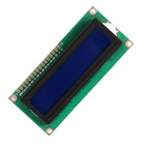 LCD 1602a 16x2 caractères DISPLAY bleu vert hd44780 lcd1602 Arduino raspberry pi
