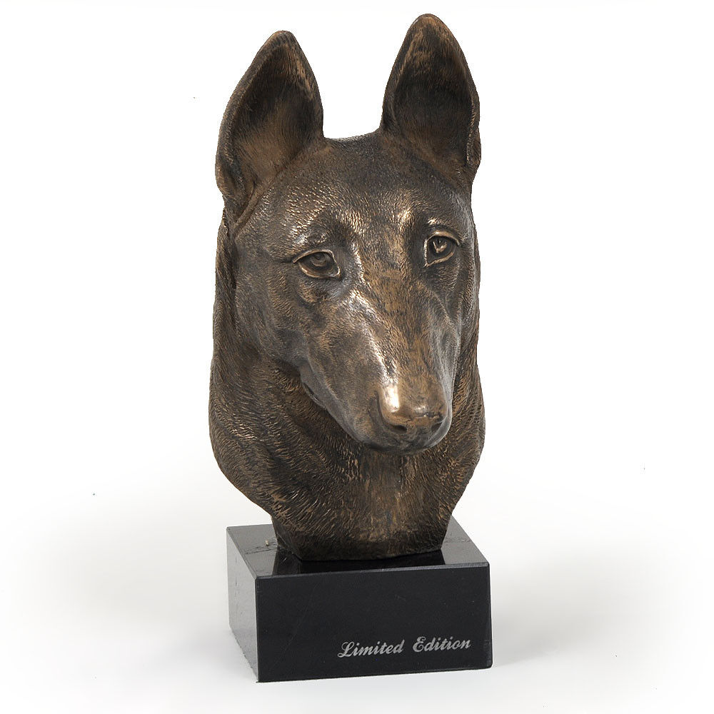 Malinois, statue miniature / buste de chien, édition FR limitée, Art Dog FR édition 676ec6