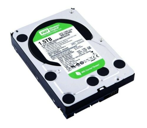 Western Digital WD15EARX WD Green 1.5Tb 5400RPM SATA-6.0Gbps 3.5-Inch HDD *New*
