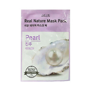RiRe-Real-Nature-Mask-Pack-3pcs-Pearl