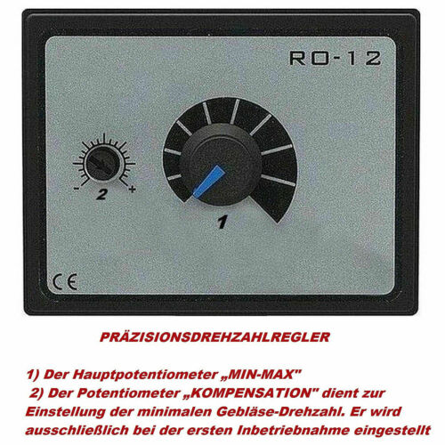 Ventilateur radial Régulateur bride Gaine Souple Aspiration Centrifuge