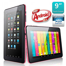 "9"" Inch Quad Core Android 4.4 Kitkat Capacitive Google Allwinner Tablet PC 16GB"
