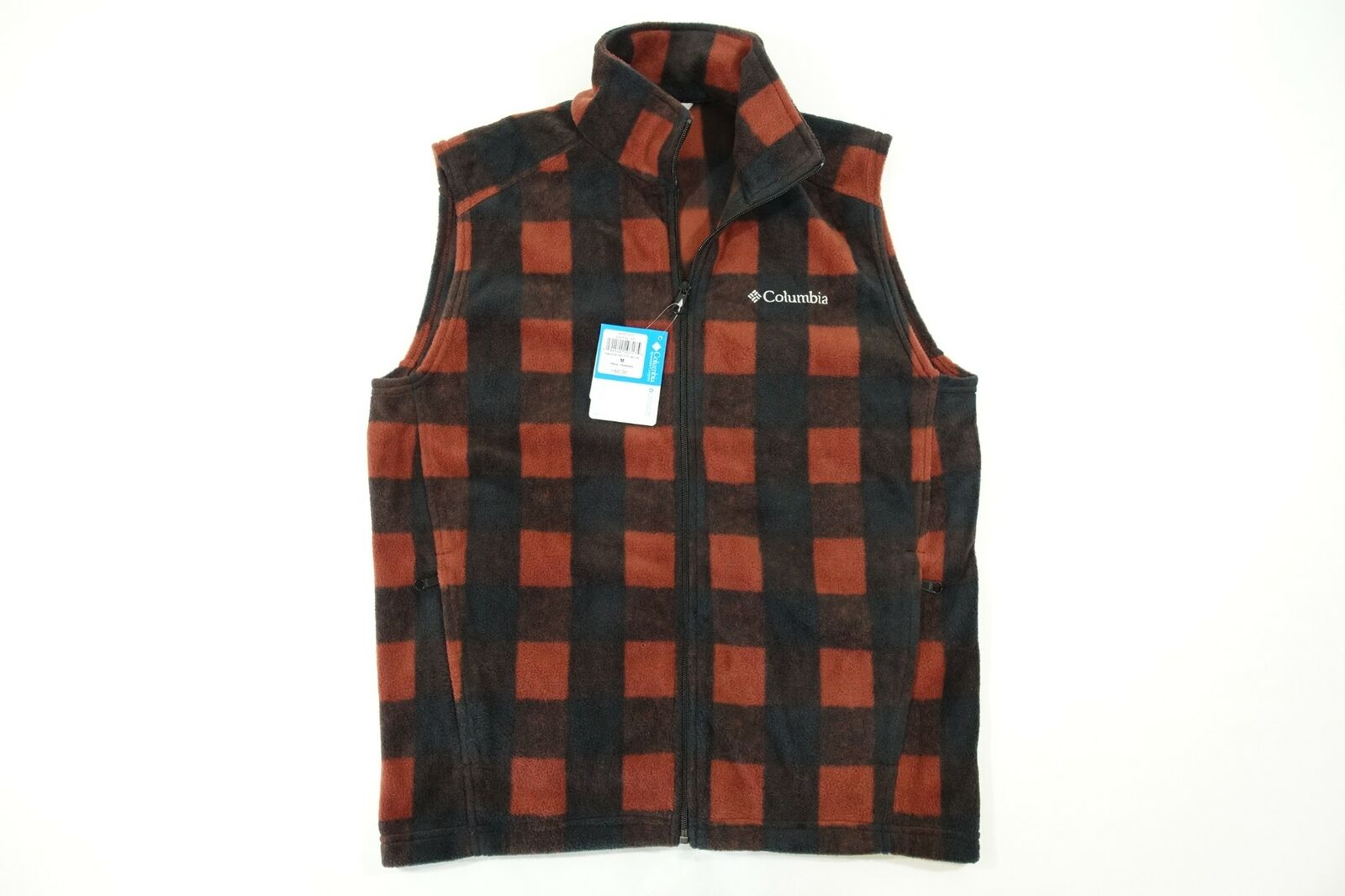 Columbia sportwear Steens Mountain AM1536 837 Kariert M Fleece Weste Jacke