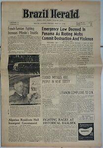 Brazil-Herald-Bresil-22-05-1958