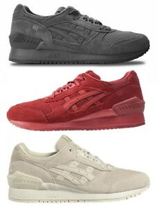 SCARPE SHOES ASICS TIGER GEL RESPECTOR 100% PELLE SALES SAMPLE H721L LEATHER