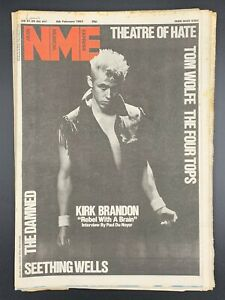 NME-6-February-1982-Theatre-of-Hate-Tom-Wolfe-Four-Tops-Damned-Seething-Wells
