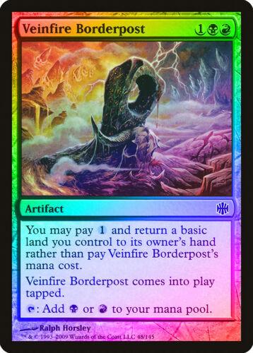 Veinfire Borderpost FOIL Alara Reborn PLD-SP Artifact Common CARD ABUGames