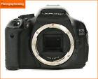 Canon EOS 600D Digital SLR Camera Body Only Free UK PP