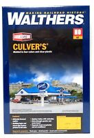 Ho Scale Walthers Cornerstone 933-3486 Culver's Restaurant Building Kit