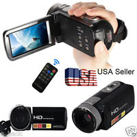 "3.0"" 24MP LCD Touch Screen Digital Video Camera Camcorder DV 1080P Full HD H2X3"