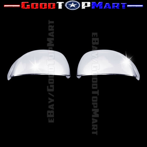 For Honda CIVIC 2012 2013 Chrome Cap Mirror Covers PAIR Mirror w//o turning light