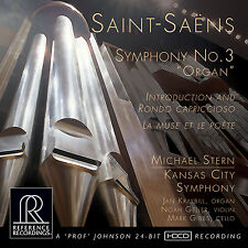 SAINT-SÄENS - REFERENCE RECORDINGS - RR-136 - SYMPHONY NO.3 ORGAN - STERN - CD