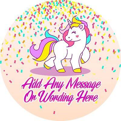 Confetti Unicorno Adesivo Con Le Etichette Per Party Borsa Dolce Coni- Fresco In Estate E Caldo In Inverno