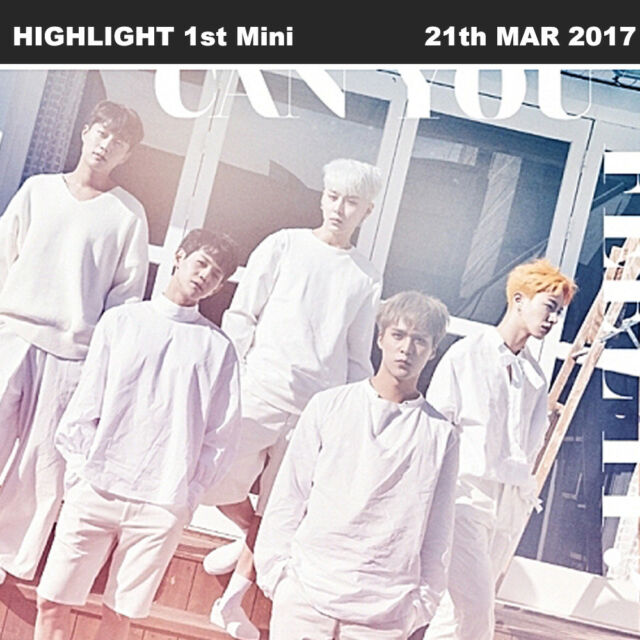 HIGHLIGHT CAN YOU FEEL IT? 1st Mini Album SENSIBILITY Ver CD+PhotoCard+Booklet