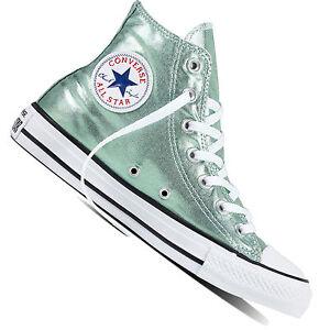 Details zu Converse Chuck Taylor All Star HI Damen Sneaker Chucks Turnschuhe Metallic