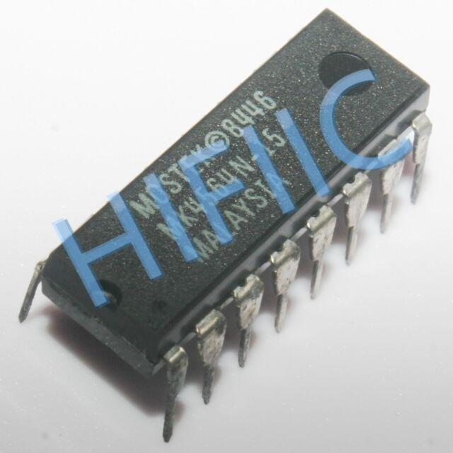 Lot of 4 Mostek MK4564N-25 64Kx1 Page Mode DRAM 250ns DIP